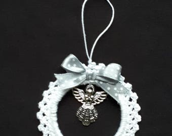 hanging hook and Angel charm