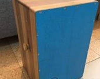 handmade solid wood cajon drum