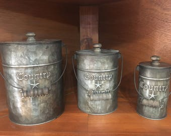 Country Charm Canisters