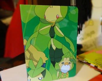 """Bug Type Pokemon Sketchbook - 5.5"""" x 8.5"""""""