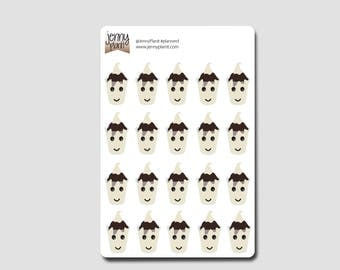 Matthew: Hot Fudge Sundae Stickers