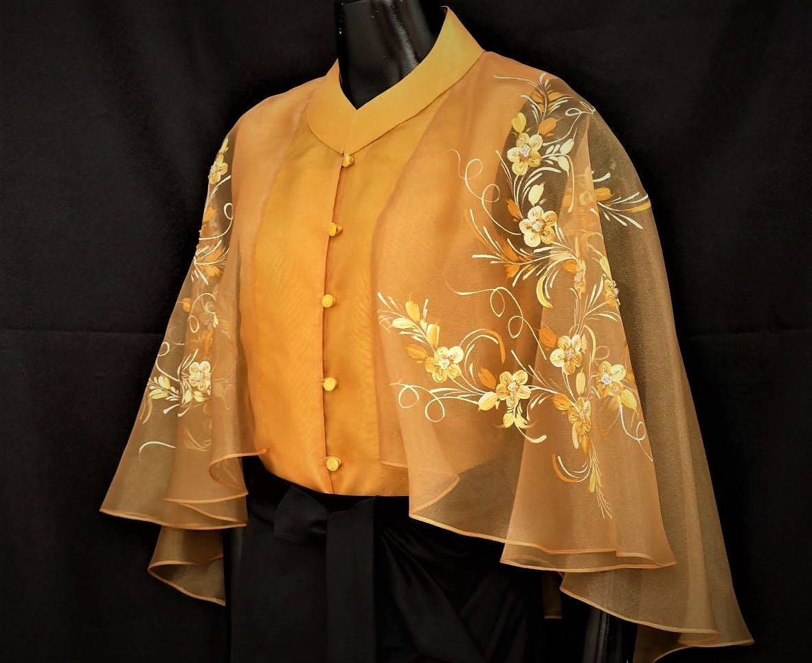 7f4014bd19 Simple Filipiniana Blouse And Skirt