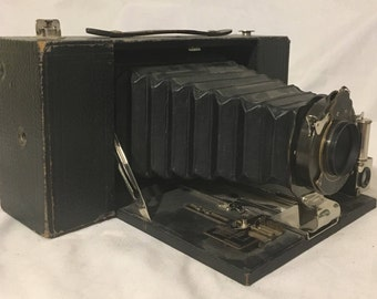 Antique Kodak No. 3-A Folding Brownie Camera, Early 1900's Vintage, Great Condition