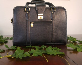 Leather Messenger Briefcase bag for Men and Women