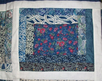Liberty Print Patchwork Quilt