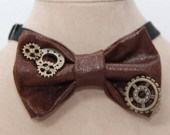 Clock Work Bow tie
