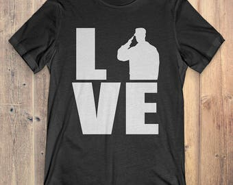 Airforce T-Shirt Gift: Love Airforce