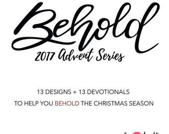 BEHOLD (Basic) // Advent 2017