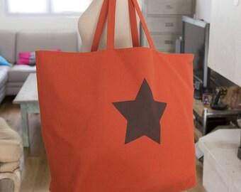 LARGE Tote Bag Terracotta