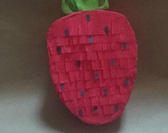 Mini Strawberry piñata