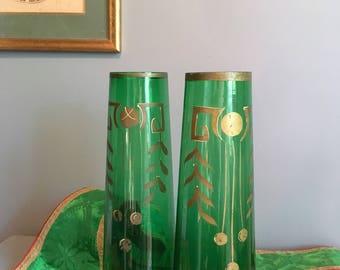 Antic pair of vases