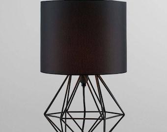 lampes de chambre coucher etsy. Black Bedroom Furniture Sets. Home Design Ideas