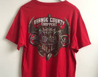 2000's Orange County Choppers OCC Biker Motorcyle Tee T-shirt