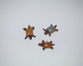 Ceramic Turtle Pendants