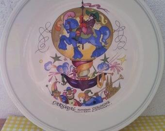 Dinner plate, Villeroy and Boch Le Ballon/Villery/dish/collection/Le Ballon/Villeroy and Boch/porcelain/vitro-porcelain/dish of porcelain