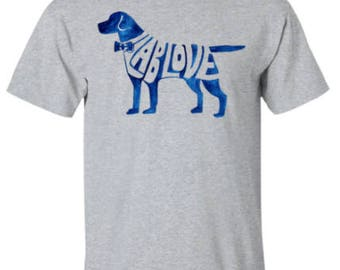 Lab Love Watercolor T-Shirt