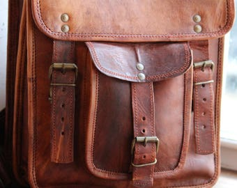Velo Leather Backpack