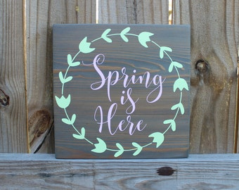 Easter sign-easter wood decor-wood sign-wood art-wood sign-wood wall art-wood decor-rustic wood decor