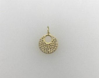 Round Disk with Hole Charm