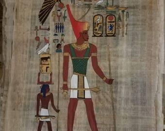 Pharaoh  Seti I and his Son Ramses II (Rassesth the Great)