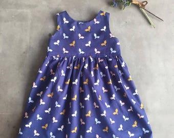 Baby Tea Party Dress, Baby Girls Dress, Kids clothing, Baby, Toddler, Romper