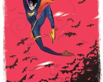 Batgirl 11x17 Print