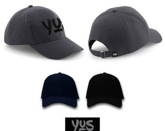 Hat/Baseball cap various colors customizable with embroidery logo YUS-Your Unique Style