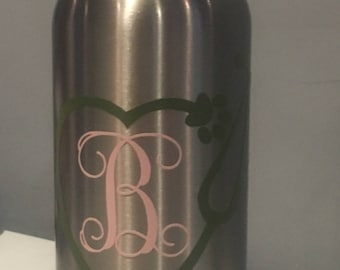 Monogram Vet Water Bottle