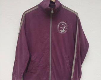 Vintage Rare PPFM Sweater Full Zip Damages Pattern from PPFM Around The Collar, Cuff, etc