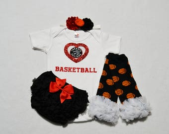 toronto raptors baby girl outfit - baby girls toronto raptors baby girl outfit - raptors basketball girls outfit - raptors baby girl gift
