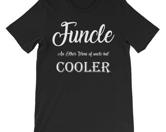 Funcle shirt definition funcle gift for uncle like a dad t shirt funcle tee shirt like a dad but cooler t shirt uncle best funkle shirt