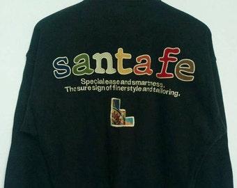 Vintage SANTAFE Sweatshirt / Santafe Big Logo size 3