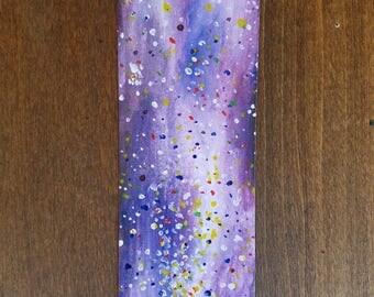 Watercolor Book Magic Bookmark