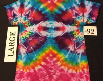 Adult Large Tie Dye Shirt