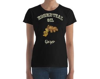 Essential Oil Ginger Women's short sleeve t-shirt