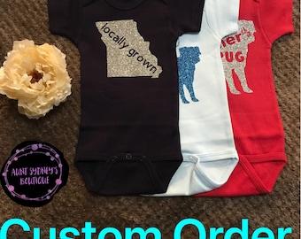 Custom Order Onesie/Bodysuit