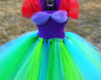 Ariel Little Mermaid Tutu Dress
