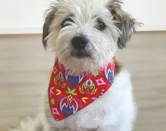 Red Orchid | Dog Neckerchief