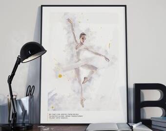 Ballet Art - Anna Pavlova quote