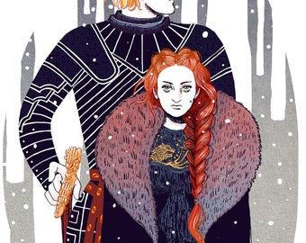 Game of Thrones - Brienne & Sansa