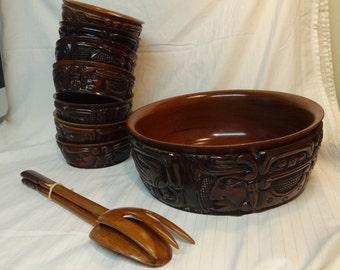 Beautiful Honduras Wood Bowls