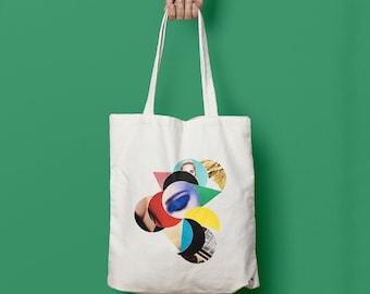 "Tote bag ""Time"""