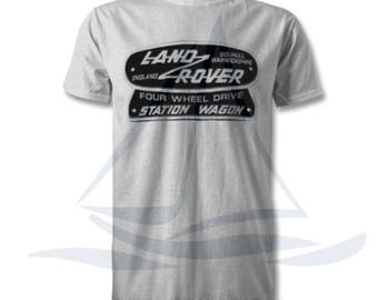 Land Rover Defender 4WD TShirt, Badge, Novelty T-Shirt, Cars, Novelty Gift, Defender T-Shirt, Land Rover T-Shirt Adults