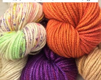 Silk/Cashmere Blend Aran Weight Yarn