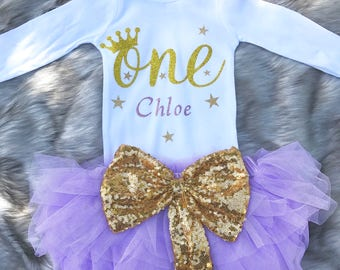 One Bodysuit / Baby One Bodysuit / 1st Birthday Bodysuit / First Birthday Bodysuit / Baby Birthday Outfit / Baby Birthday Bodysuit