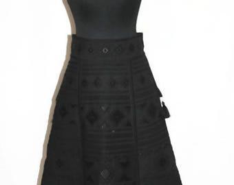 Embroidered Skirt Boho Skirt High Waist Bohemian Clothes Ukraine Embroidery Mexican Clothing Vyshyvanka Fashion Ethnic Vishivanka Long Maxi