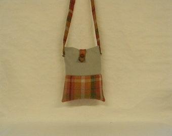 Cross Body Tartan Bag