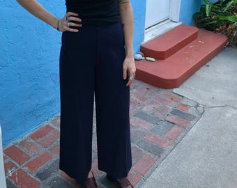 Vintage Ralph Lauren High Waisted Cropped Pants