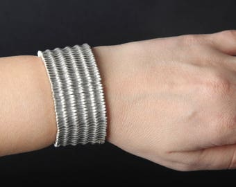 Perfect Handmade Silver Bracelet