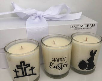 EASTER Soy Candle Trio Gift Set - Mixed